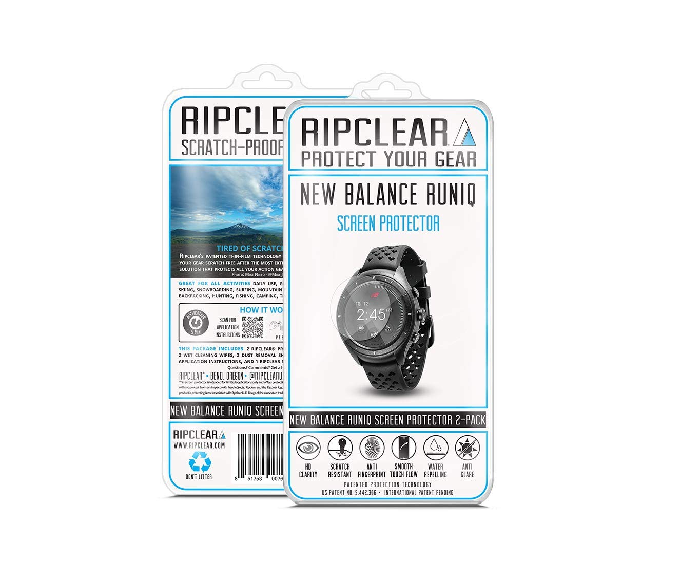 Amazon.com: Ripclear Compatible with New Balance RunIQ ...