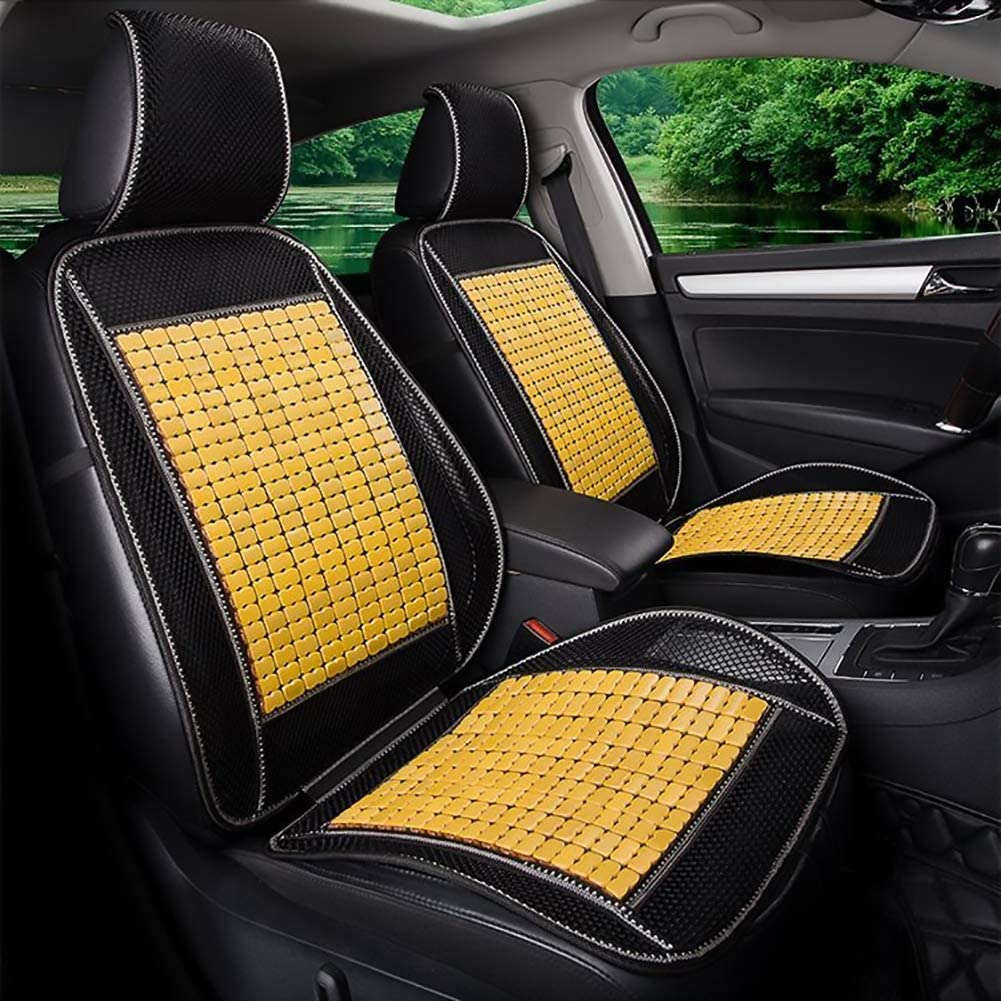 Quality Premium Quality Car Massaging Double Strung Wood Beaded Seat Cushion Suitable for Most Models Wood Beaded Seat Cushion