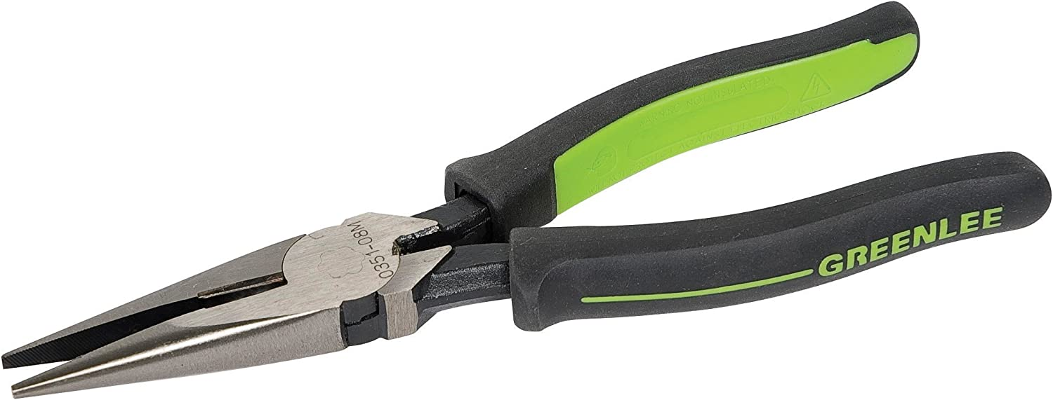 """NEW Greenlee 0151-09D 9/"""" High Leverage Side Cutting Lineman Pliers 2"""