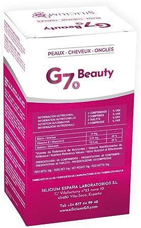 SILICIUM G7 BEAUTY | Vitaminas Para Piel, Crecimiento del Cabello ...