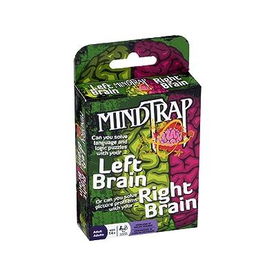 Outset Media Mindtrap Left Brain Rght Brain: Toys & Games