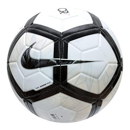 62b356e9c Buy Nike CR7 Prestige Ball (Blue Tint/White/Black, SC3258-100(5)) Online at  Low Prices in India - Amazon.in