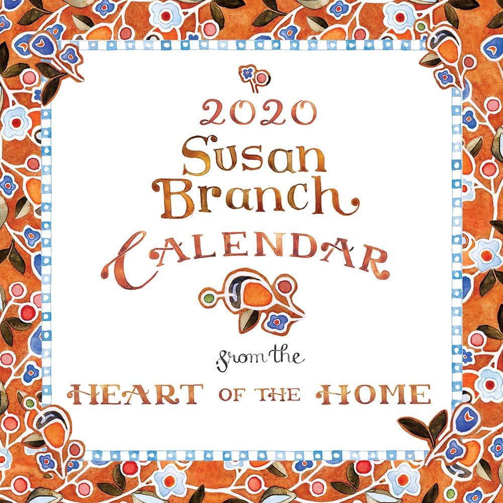 Susan Branch Calendar 2020 2020 Susan Branch Heart of the Home Mini Calendar: TF Publishing