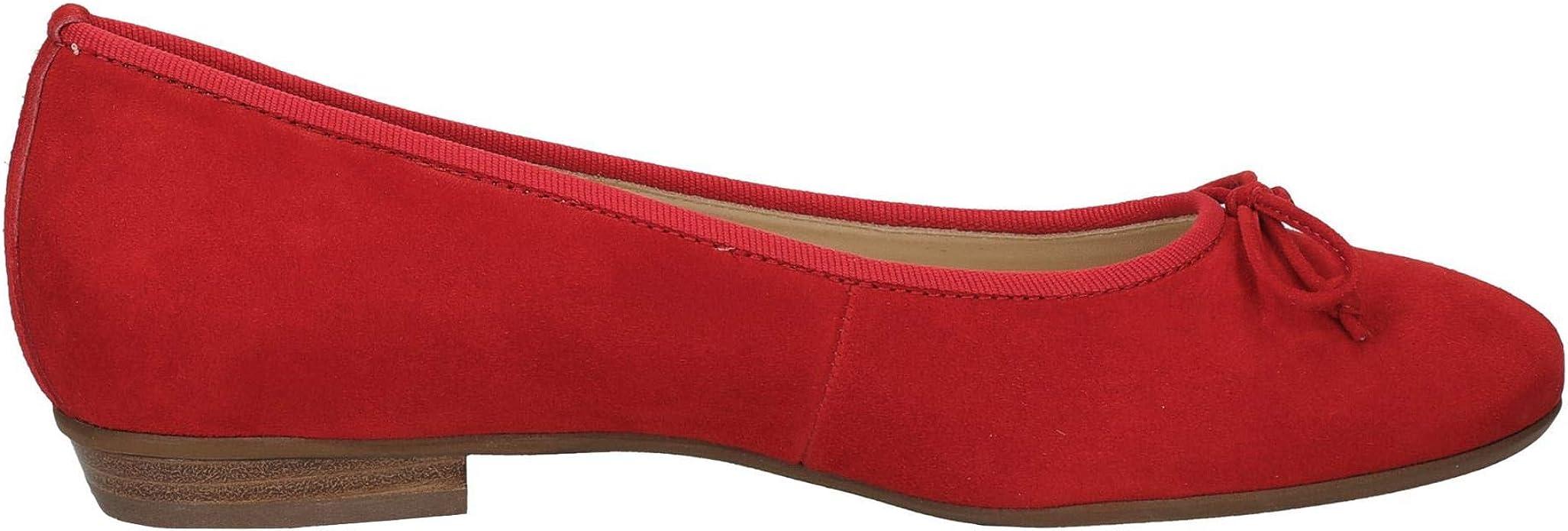 Paul Green Ballerina Rot: : Chaussures et Sacs