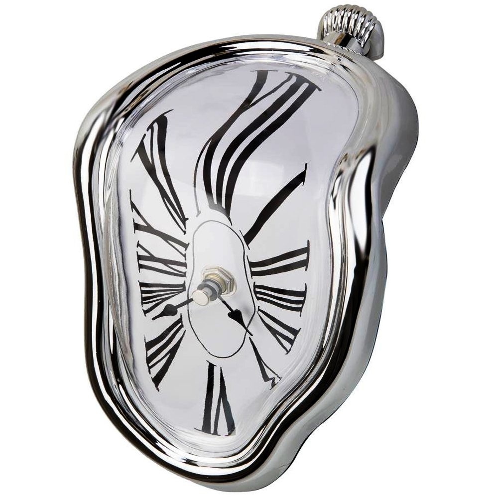 Tavolo Melting Time Flow orologio da tavolo, decorativo e divertente, Salvador Dali Inspired, by Creatov COMINHKPR110511