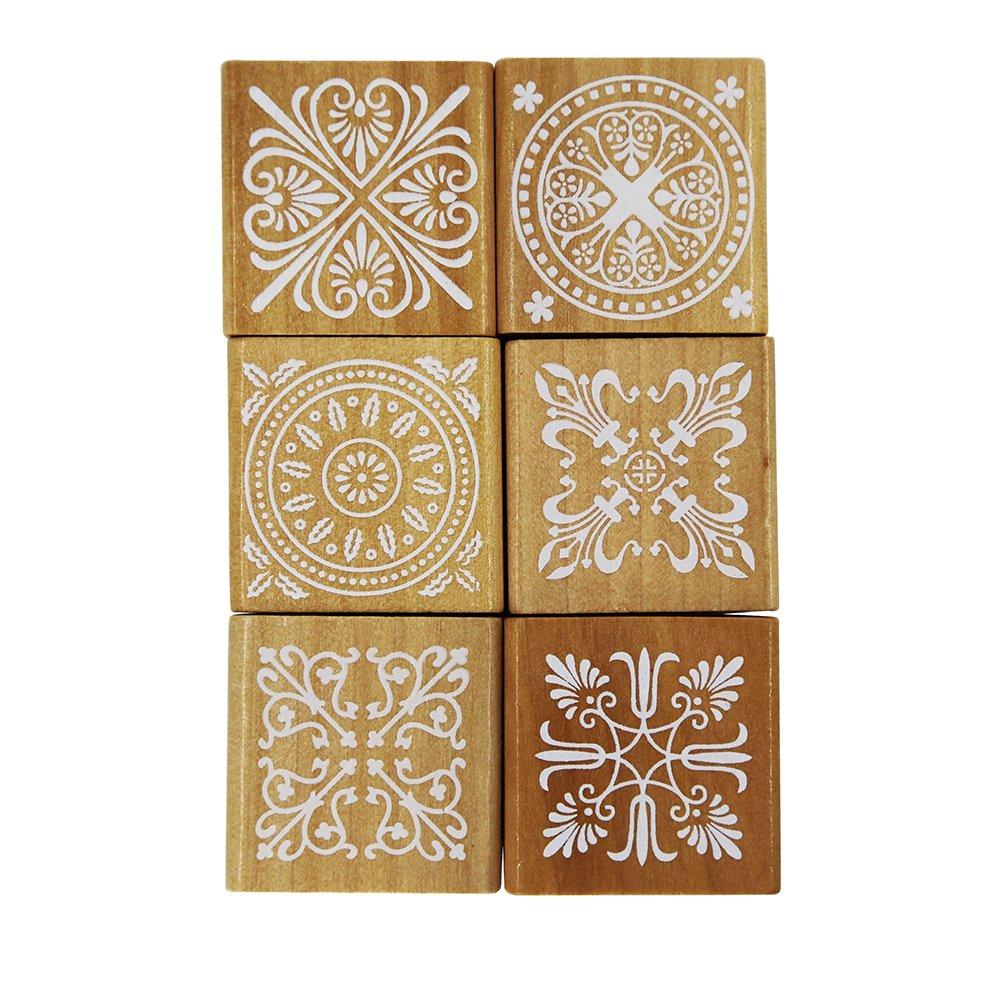 Alphabet Stamps Set, 70pcs Letter/Number/Symbol Wooden Rubber Stamp for DIY Craft Card Making Planner Scrapbooking Supplies Houseer 4336992288