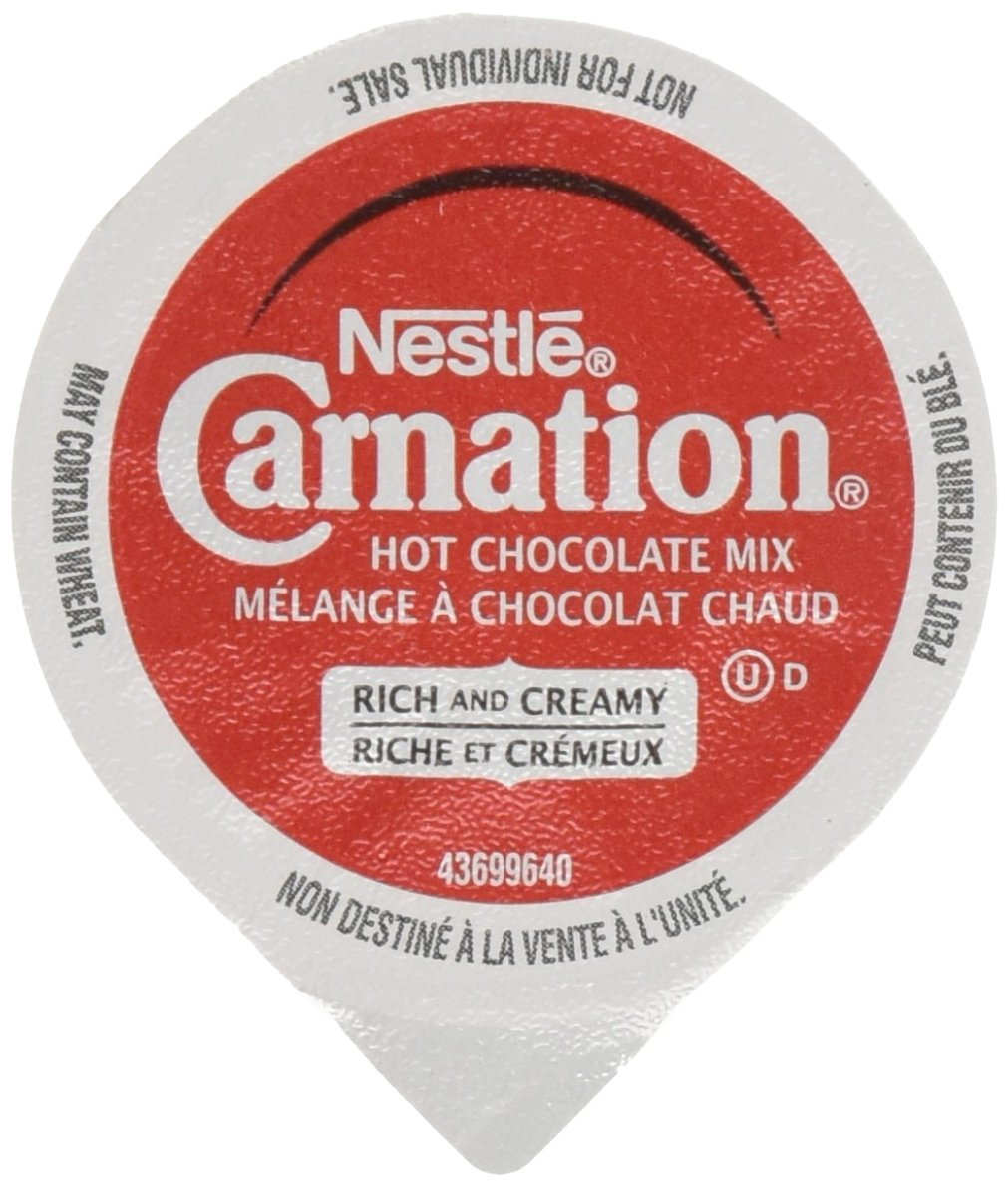 CARNATION Rich Hot Chocolate, KEURIG K-CUP Compatible Pods, 12x15g ...