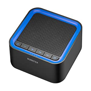 AVANTEK White Noise Sound Machine for Sleeping, 20 Non-Looping High Fidelity Soothing Sounds with 30 Levels of Volume, 7 Timer Settings and Memory Function sleeping sound machines - 71Eegs0NJcL - SOUND MACHINES – A HELPFUL WAY TO A SOUND AND QUALITY SLEEP