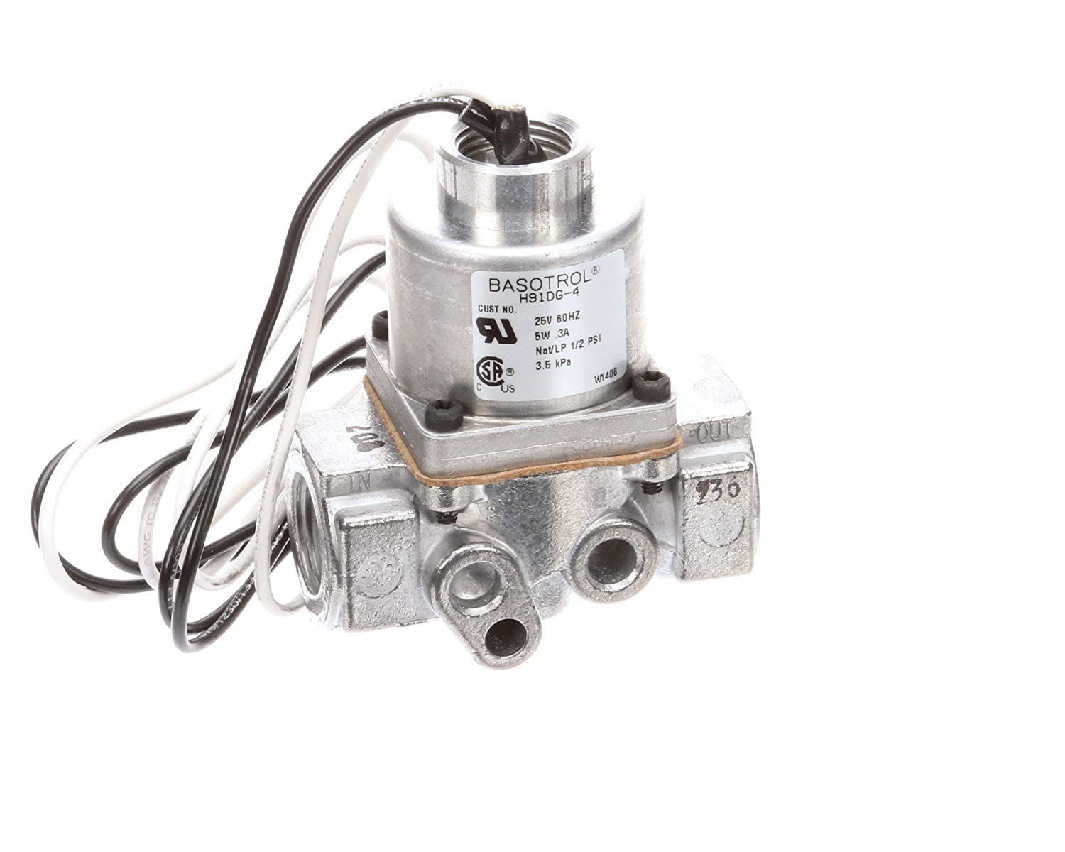Henny Penny 38468 Solenoid Gas Valve 24-volt