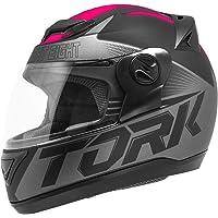 Pro Tork Capacete Evolution G7 Fosco 56 Preto/Rosa