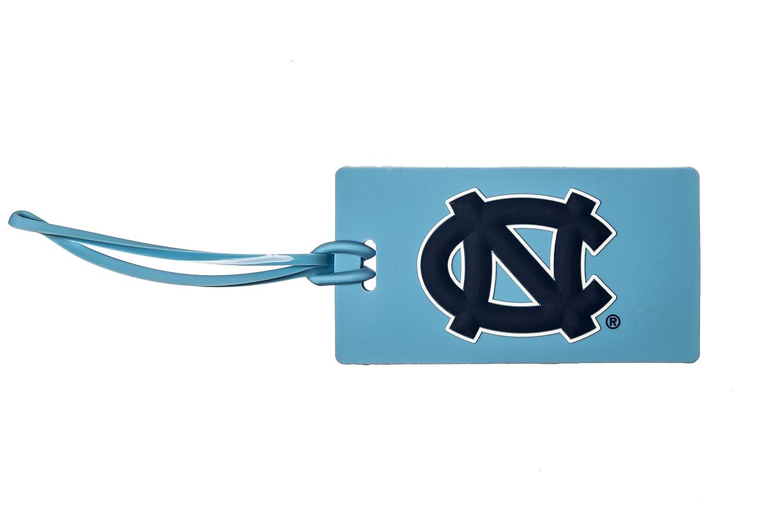 NORTH CAROLINA TARHEELS NCAA PVC LUGGAGE TAG