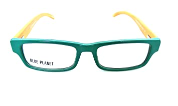 874e1802a3 BLUE PLANET Reading Glasses Eco Friendly Men Women Sustainable Bamboo  Ladies Designer Eyeglasses Green +1.25