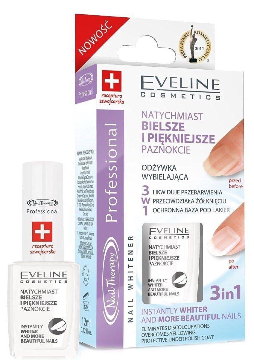 Eveline Cosmetics Nail Therapy Professional, Whitener, 1 Stück 1 Stück 5902425378878