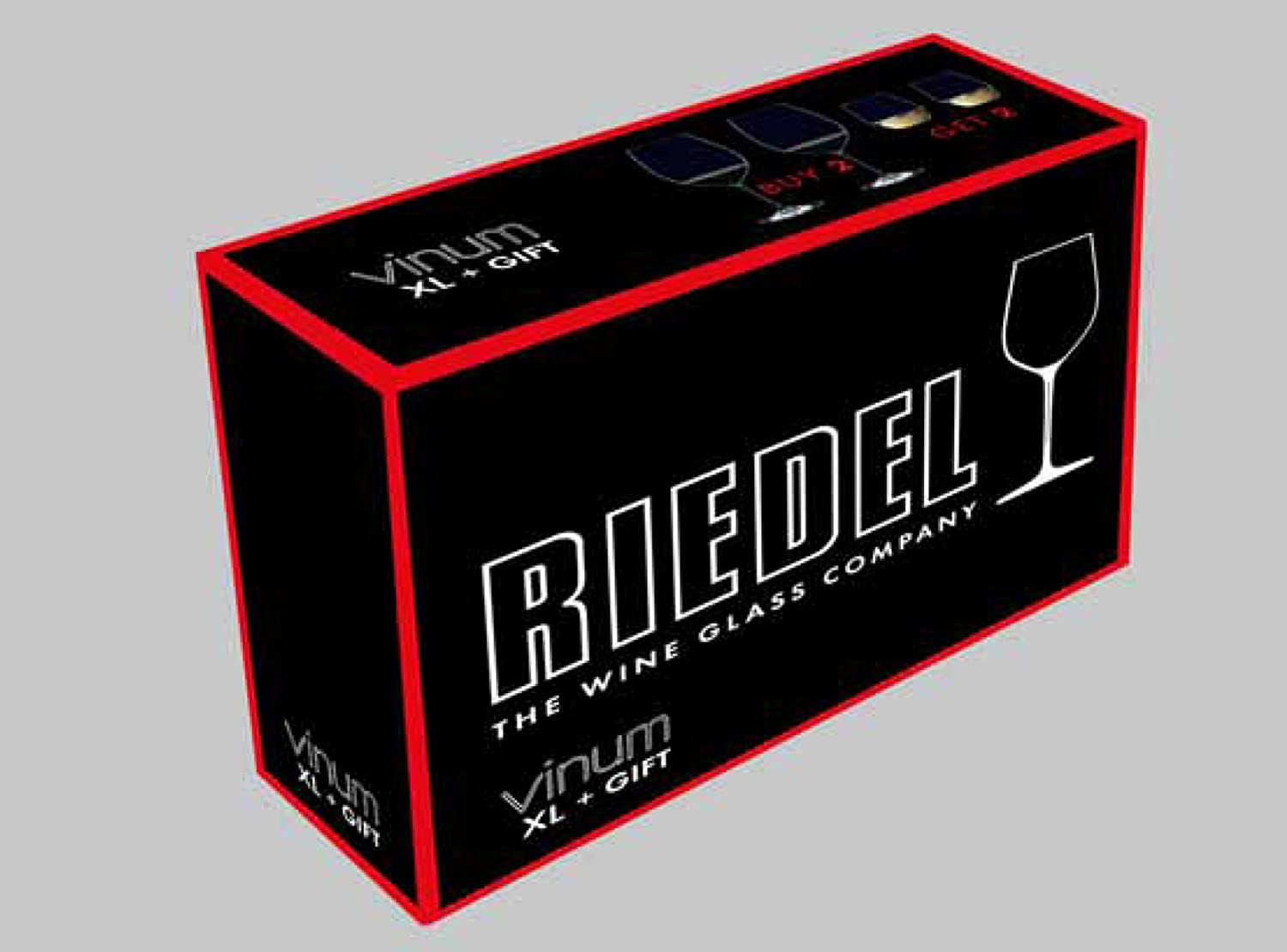 Riedel Vinum XL Cabernet Glass, Set of 2 6416/00
