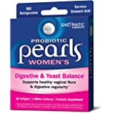 Probiotic Pearls Once Daily Women's Probiotic Supplement, 1 Billion Live Cultures, Survives Stomach Acid, No Refrigeration, 30 Softgels