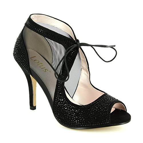 c898a21da Lotus Vanille Womens Caged Heel Dress Shoes  Amazon.co.uk  Shoes   Bags