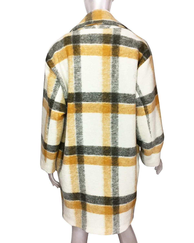 MANGO Women Unstructured Virgin Wool Coat 41050883