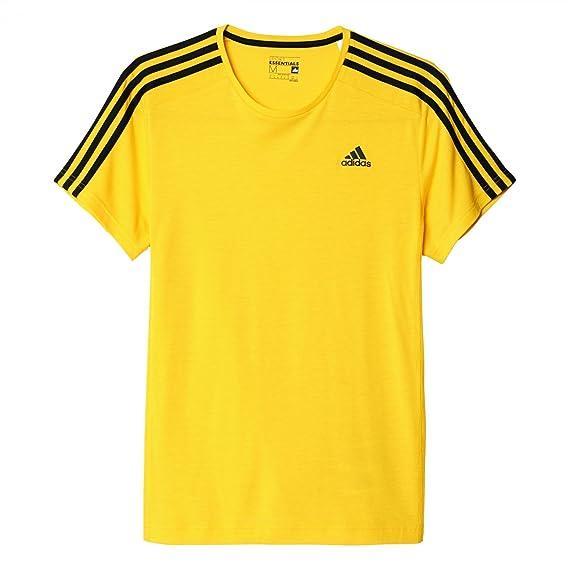 ADIDAS T Shirt Herren gelb