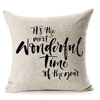 mfgneh christmas decorative pillow covers throw pillow case cushion cover 18 x 18 inches