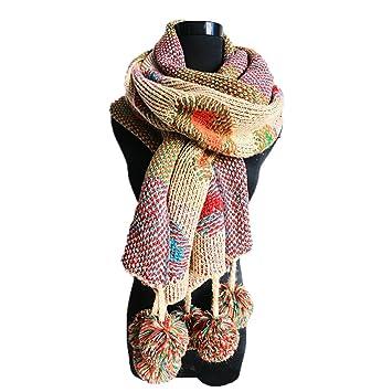 fd1844af71a Butterme longue écharpe en tricot pour femme