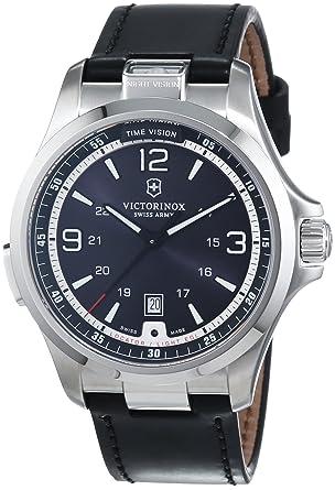 8654e08a7f2e Victorinox Swiss Army Night Vision 241664 Mens Wristwatch With Illumination