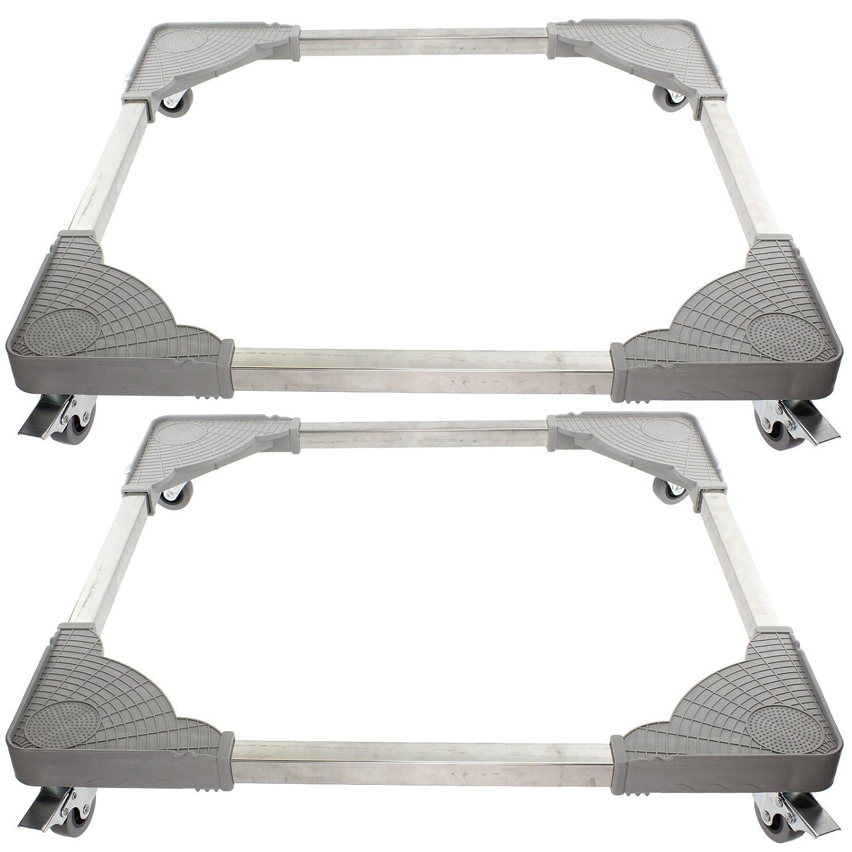 SPARES2GO Universal Appliance Wheels Adjustable Fridge Freezer ...