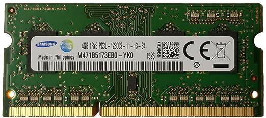 68 opinioni per Samsung original 4GB, 204-pin SODIMM, DDR3 PC3L-12800, ram memory module for