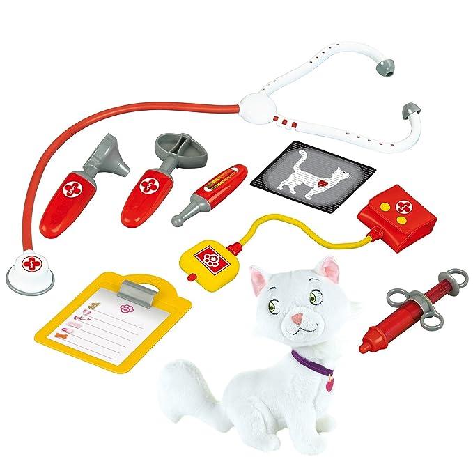Imaginarium 92358 - Clínica veterinaria con accesorios y mascota, unisex: Amazon.es: Bebé