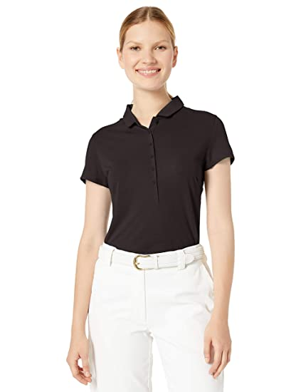 PUMA 2019 Slim Stretch Polo Black, Double X-Large para Mujer ...