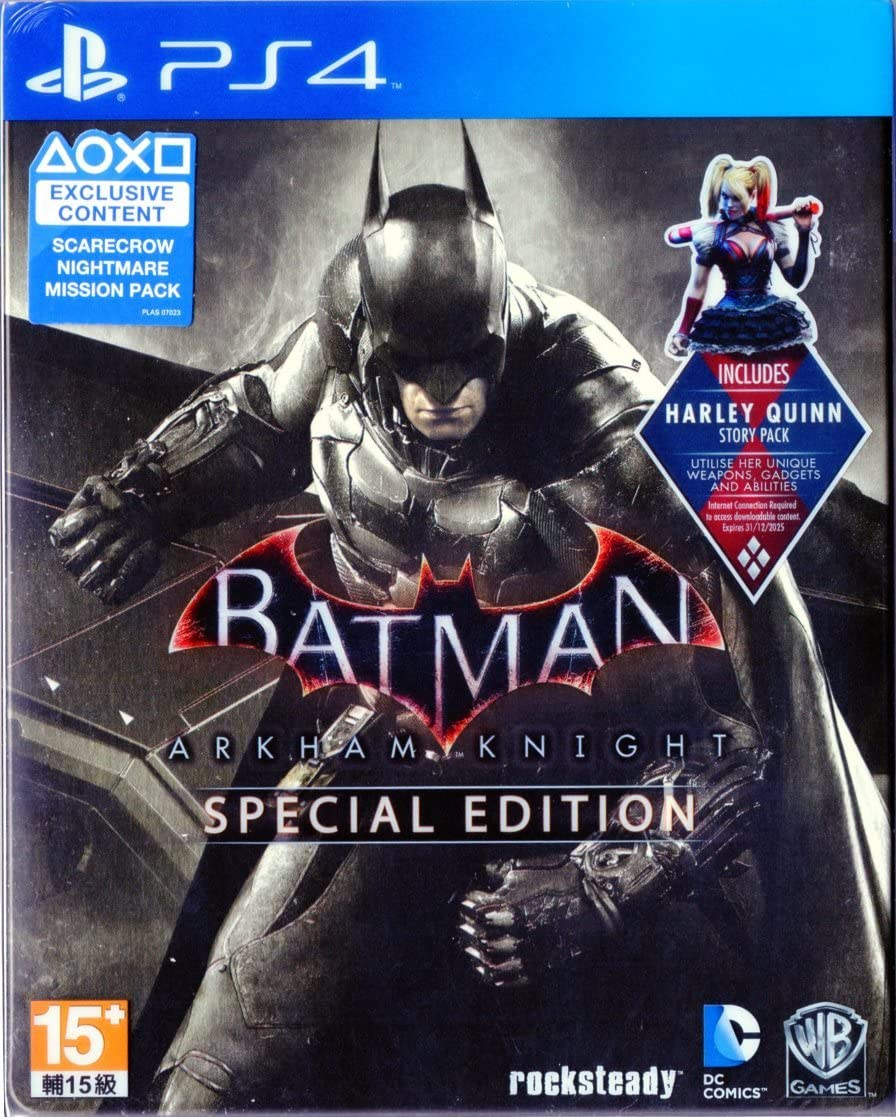 Batman: Arkham Knight - Special Edition Steelbook (PS4 ...