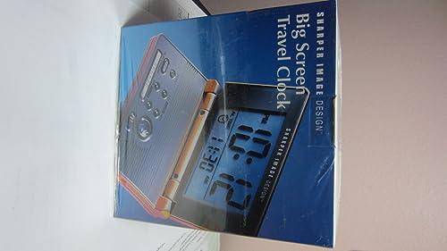 Sharper Image Loud, Dual Time Travel Alarm Clock Si415