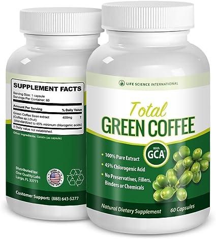 Amazon Com Green Coffee Diet Pills Total Green Coffee 100 Pure