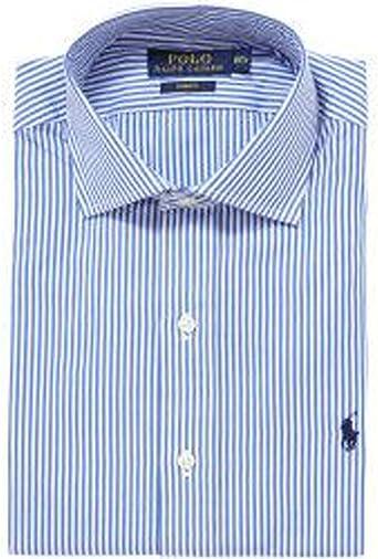 Polo Ralph Lauren para hombre formal camisa de rayas de Pin de Bengala pd33 Multicolor Multicolor 38 cm Cuello: Amazon.es: Ropa y accesorios