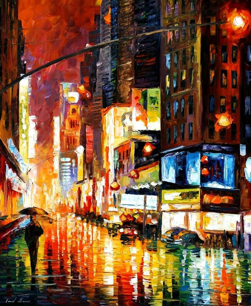 Time Square - New York City (40 x 30) - Gallery Proof by