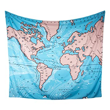 Amazon world map tapestry clear wall hanging with alphabets world map tapestry clear wall hanging with alphabets mandala bohemian tapestry for home room wall dorm gumiabroncs Choice Image