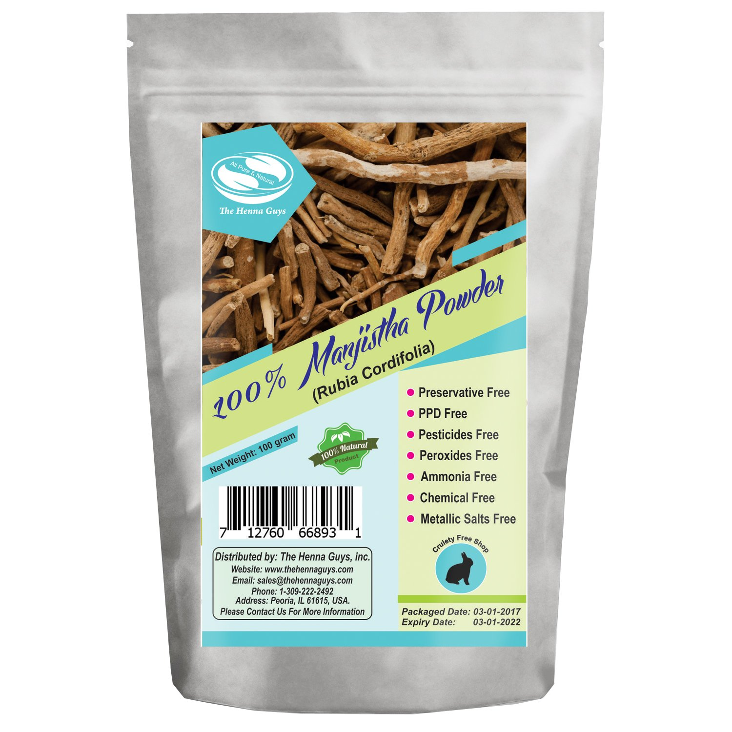 100 Grams Liquorice/Mulethi Powder - 100% Pure & Natural Herbs,  Multi-Purpose Use, Food Spices,