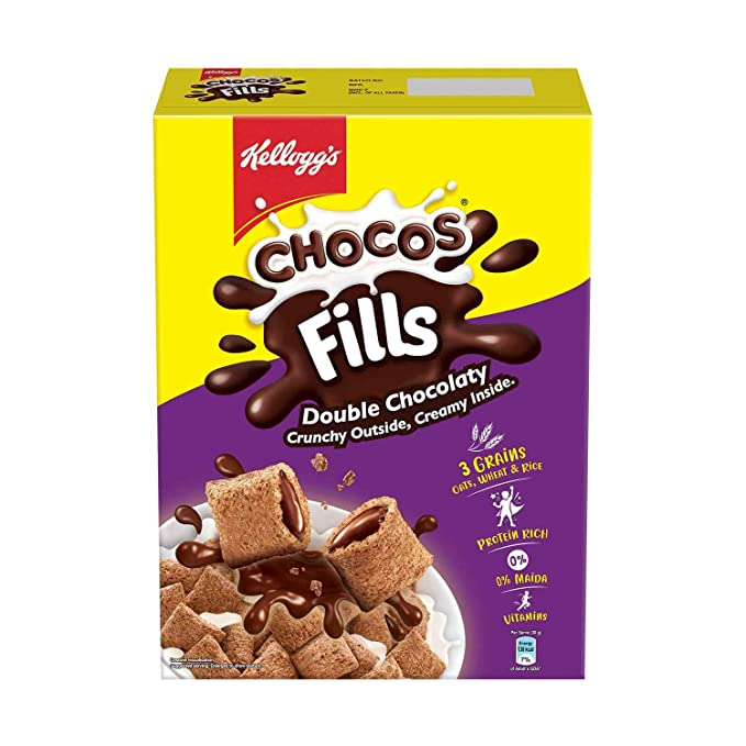 Kellogg's Choco Fills, Chocolate Flavour, 250gms Pack