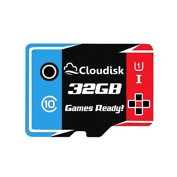 Games Ready 32GB Tarjeta Micro SD Tarjeta de Memoria UHS ...