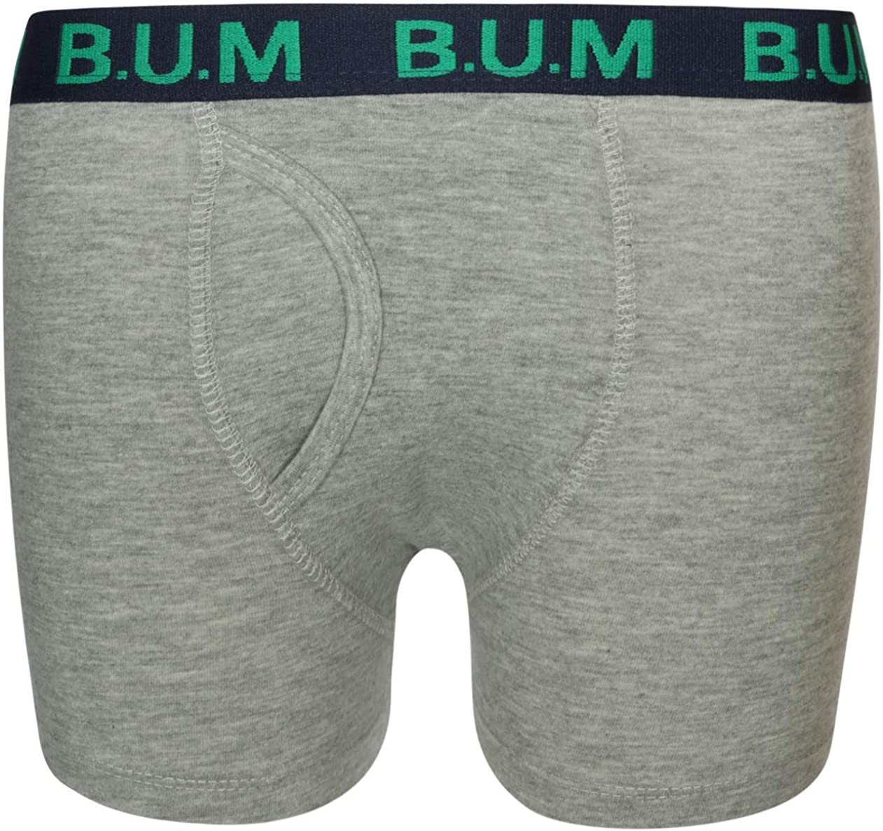 B.U.M Equipment Boys 5 Pack Solid Boxer Briefs Underwear