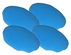 Black & Decker WP900 Polisher (4 Pack) Replacement Foam Bonnet # 580753-00-4pk