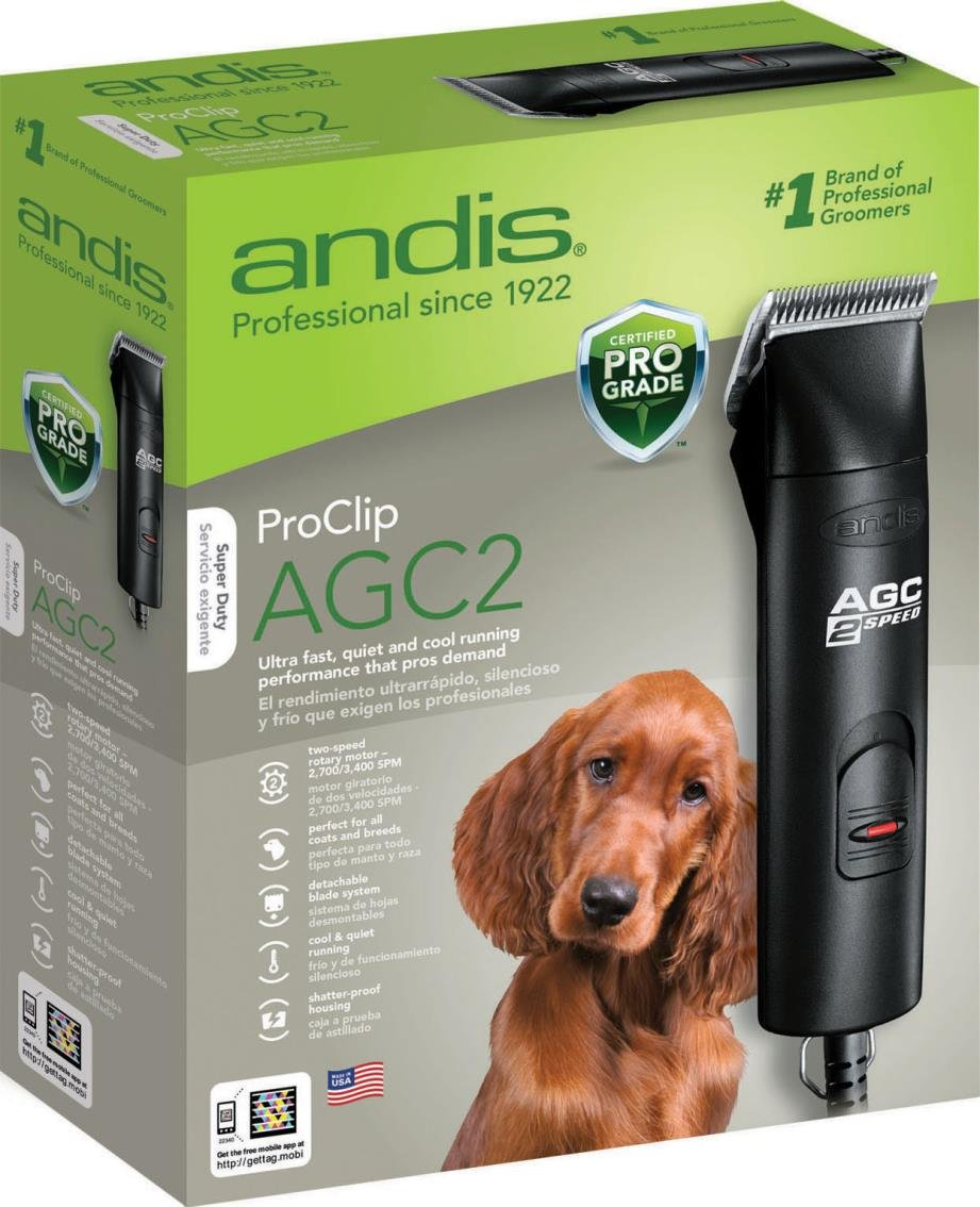 DPD AGC2 2 Speed Professional Animal Clipper - 2700/3400 SPM