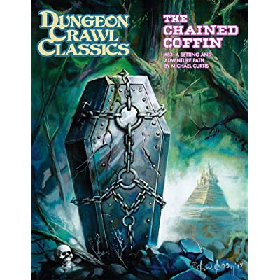 Dungeon Crawl Classics #83: The Chained Coffin (DCC RPG Adv., Hardback): Goodman Games: Toys & Games