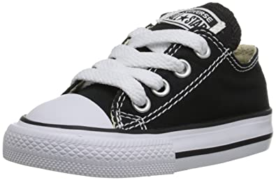 ce40338e75a8 Converse Unisex Baby Infant Chuck Taylor All Stars Ox (Toddler) - Black - 2