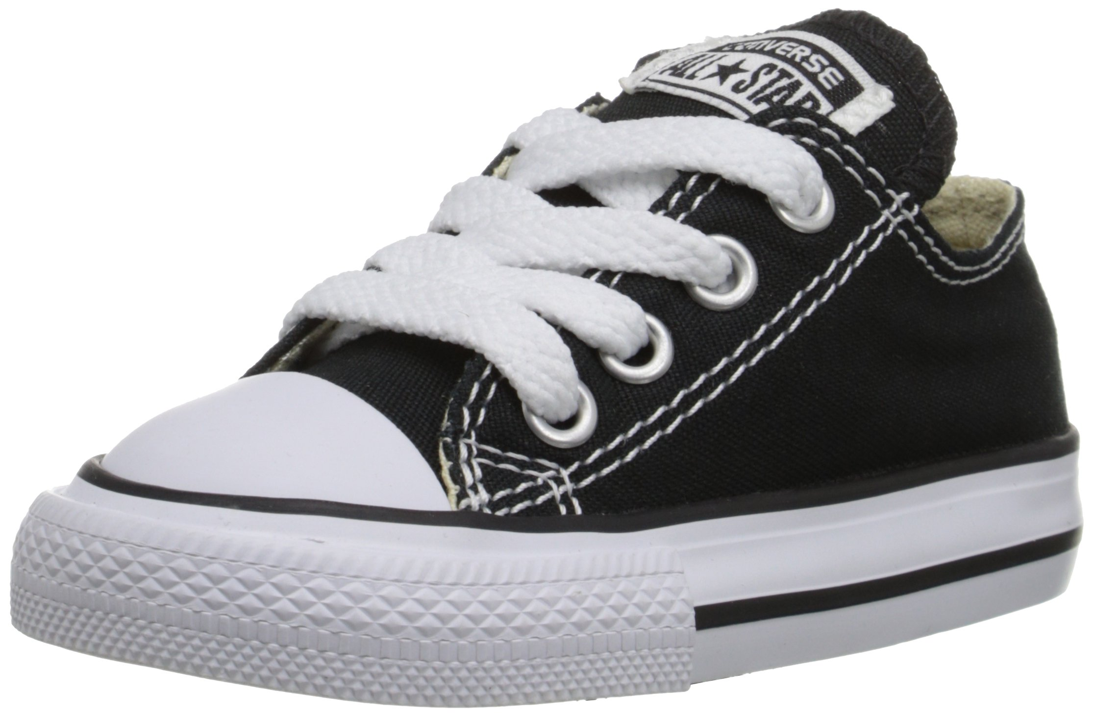 Converse Chuck Taylor All Star OX Shoe - Kids' Black, 10.5