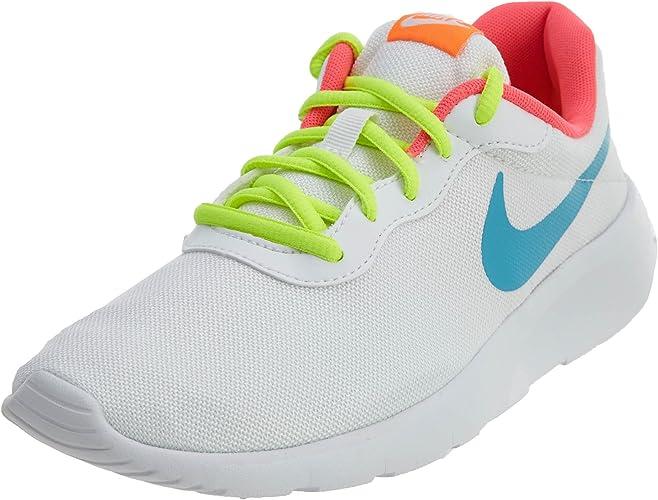 turtle analog Clinic  Nike Tanjun GS Scarpe Sportive Ragazza Donna Bianco Giallo Rosa Fluo  (35.5): Amazon.it: Scarpe e borse