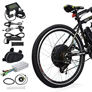 "Voilamart 26"" Rear Wheel Electric Bicycle CK for Road Bike"