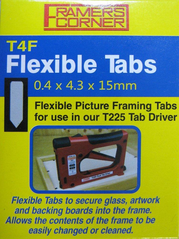 Charnwood T4F Flexible Tabs, 2500er Pack: Amazon.de: Baumarkt