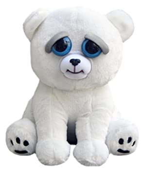 Feisty Pets FP-PBEAR Karl The Snarl Polar Bear Plush Toys Peluches (Oso polar