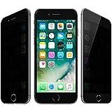 SUPTMAX iPhone 7 フィルム 覗き見防止 iPhone 7 強化ガラスフィルム 9H 衝撃吸収 日本製素材使用 0.26mm プライバシー保護 アイフォン 7 フィルム ( 覗き見防止)