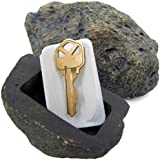 RamPro Hide-a-Spare-Key Fake Rock - Looks & Feels like Real Stone – Safe for Outdoor Garden or Yard, Geocaching